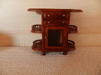 Jiayi Walnut Tea Trolley image